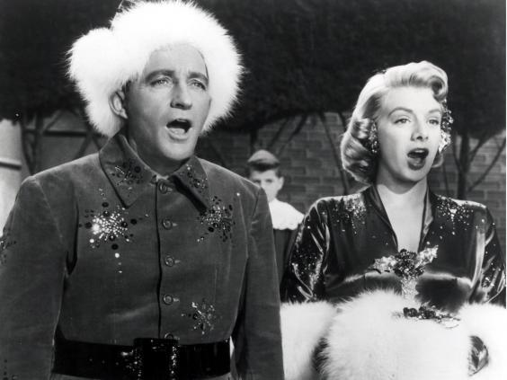 Bing Crosby and Rosemary Clooney starred in the 1954 film 'White Christmas' (Rex)