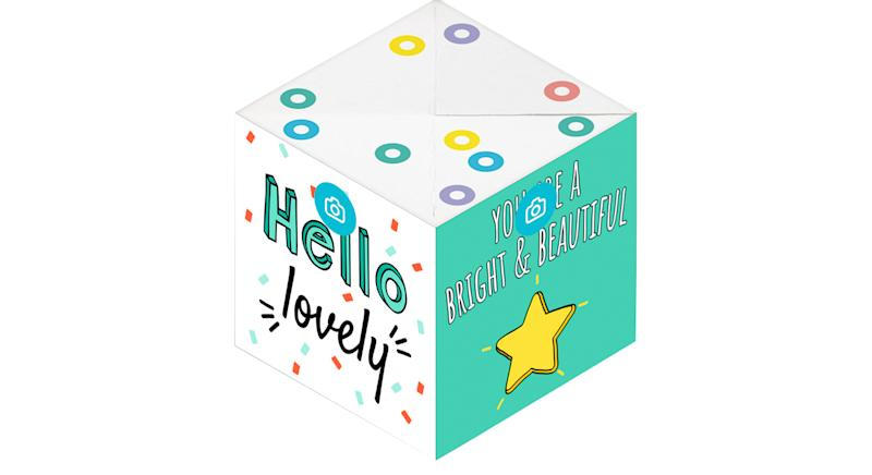 Personalised Exploding Confetti Card