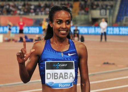 Athletics: Ethiopia's Dibaba out of world championships with foot injury