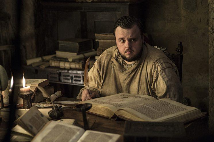 John Bradley as Samwell Tarly in HBO's Game of Thrones . (Photo Credit: HBO)