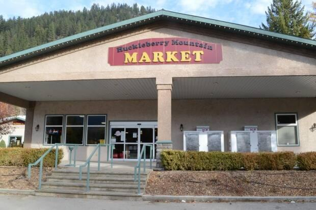Shop owner Jean-Marc Pesant handed out $30,000 in bonuses to staff at the Huckleberry Mountain Market in Christina Lake, B.C., as a way of showing workers his appreciation during a busy pandemic season. (facebook/huckleberrymountainmarket - image credit)