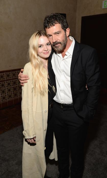 Antonio Banderas with daughter, Stella