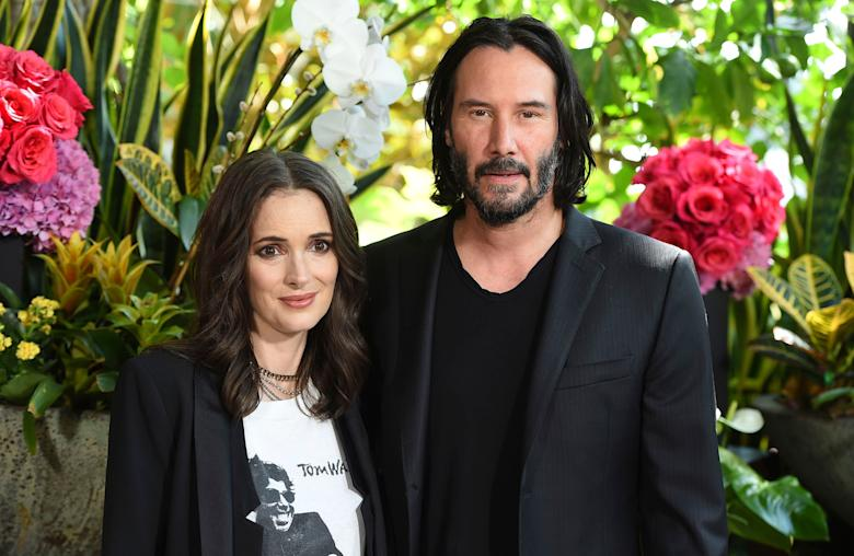 Winona Ryder thinks she's been married to Keanu Reeves for 25 years