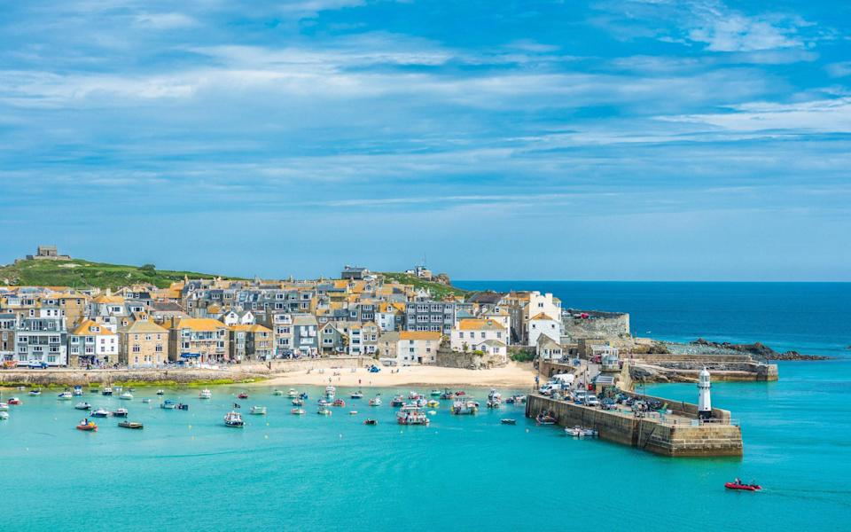 St Ives will feature on many UK holiday wishlists - Getty