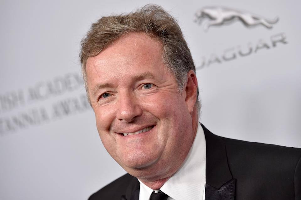 BEVERLY HILLS, CALIFORNIA - OCTOBER 25: Piers Morgan attends the 2019 British Academy Britannia Awards presented by American Airlines and Jaguar Land Rover at The Beverly Hilton Hotel on October 25, 2019 in Beverly Hills, California. (Photo by Axelle/Bauer-Griffin/FilmMagic)