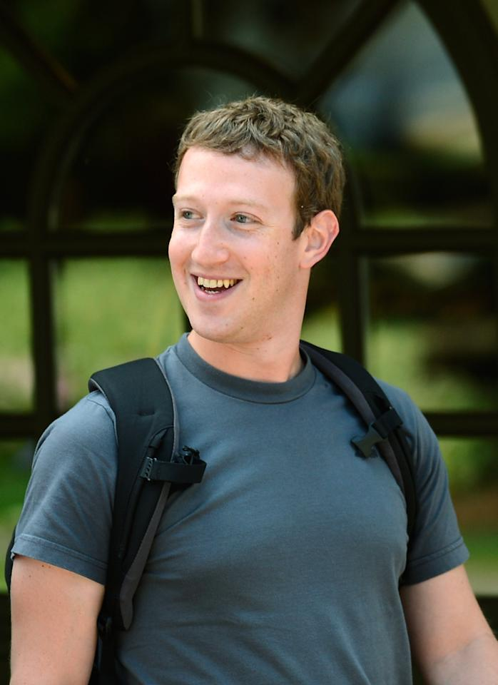 SUN VALLEY, ID - JULY 11:  Facebook CEO Mark Zuckerberg attends the Allen & Company Sun Valley Conference on July 11, 2011 in Sun Valley, Idaho. The conference has been hosted annually by the investment firm Allen & Company since 1983 and is typically attended by many of the world's most powerful media executives.  (Photo by Kevork Djansezian/Getty Images)