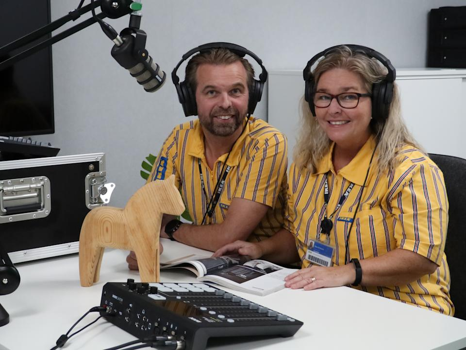 Listen to the dulcet tones of Ikea's Kent and Sara Eriksson. Image: Ikea