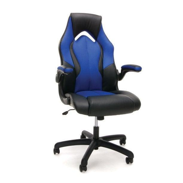 """<h2>OFM High-Back Racing Style Gaming Chair</h2><br><strong>Best For: Non-Gamers Who Want Serious Support</strong><br>If you want gamer-level body support but without the game style, let this mom-approved option serve you — it comes crafted with a high-back, ergonomic racing frame made from durable and padded bonded leather.<br><br><strong>The Hype: </strong>4.5 out of 5 stars and 1,171 reviews on <a href=""""https://www.walmart.com/ip/OFM-Essentials-Collection-High-Back-Racing-Style-Bonded-Leather-Gaming-Chair-in-Black-ESS-3086-BLK/746941627"""" rel=""""nofollow noopener"""" target=""""_blank"""" data-ylk=""""slk:Walmart"""" class=""""link rapid-noclick-resp"""">Walmart</a><br><br><strong>Comfy Butts Say: </strong>""""I really wanted this chair a couple of years ago but did not have a home office that I really needed it for. My oldest son ended up buying it on sale for himself last year and it is still going strong (he uses it a LOT). We ended up getting the same chair for our other kids and my husband and I — since we are now working from home. Plus, with all the color options we each have our own color so nobody can say so-and-so took my chair. (Yes, we have kids! LOL!) As a note, I have severe back problems in my lower back and I can sit in this chair for 8-10 hours a day with no problem. :)""""<br><br><strong>OFM</strong> Essentials Collection High-Back Leather Gaming Chair, $, available at <a href=""""https://go.skimresources.com/?id=30283X879131&url=https%3A%2F%2Fwww.walmart.com%2Fip%2FOFM-Essentials-Collection-High-Back-Racing-Style-Bonded-Leather-Gaming-Chair-in-Blue-ESS-3086-BLU%2F105296298"""" rel=""""nofollow noopener"""" target=""""_blank"""" data-ylk=""""slk:Walmart"""" class=""""link rapid-noclick-resp"""">Walmart</a>"""