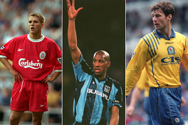 <p>Three English strkers shared the Golden Boot: Michael Owen (Liverpool), Dion Dublin (Coventry) and Chris Sutton (Blackburn). They all scored 18 goals asArsenal claimed the title. </p>