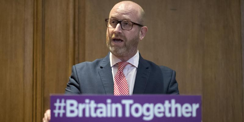 Paul Nuttall has said he will 'lead Ukip into battle' in the 2017 election: JUSTIN TALLIS/AFP/Getty Images