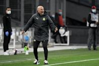 Jorge Sampaoli oversaw a win against Rennes in his first match as Marseille coach