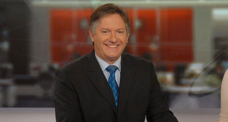 BBC newsreader Simon McCoy (BBC)