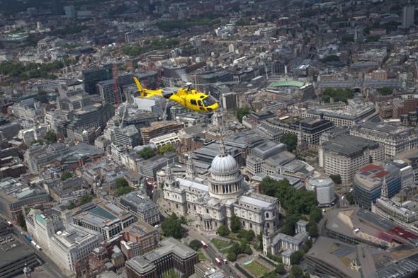 win a london helicopter ride