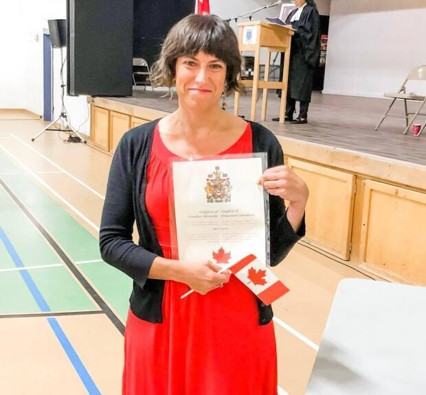 Ariana Salvo moved to P.E.I. in 2004, but didn't receive her Canadian citizenship until 2019. (Submitted by Ariana Salvo - image credit)