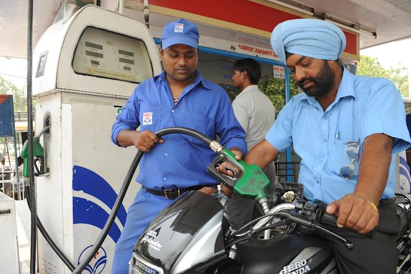 """Demand for oil worldwide is set to grow at a """"solid"""" rate in 2016, with India the """"star performer"""" after making up nearly 30 percent of the global increase in demand in the first quarter of the year, the IEA said (AFP Photo/Narinder Nanu)"""