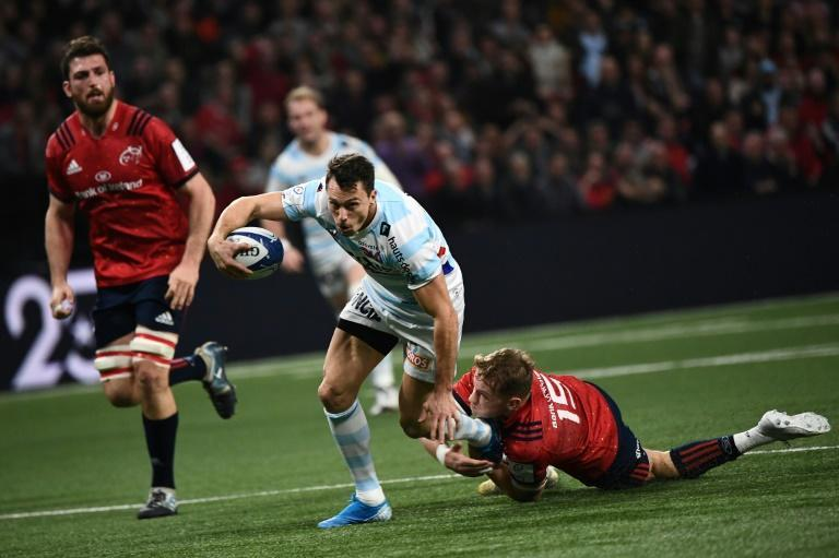 Juan Imhoff's late try claimed a bonus point for Racing 92