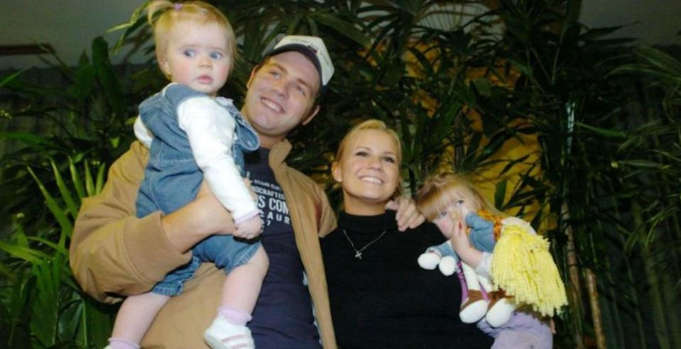 Brian McFadden and Kerry Katona in 2004 (PA Images)