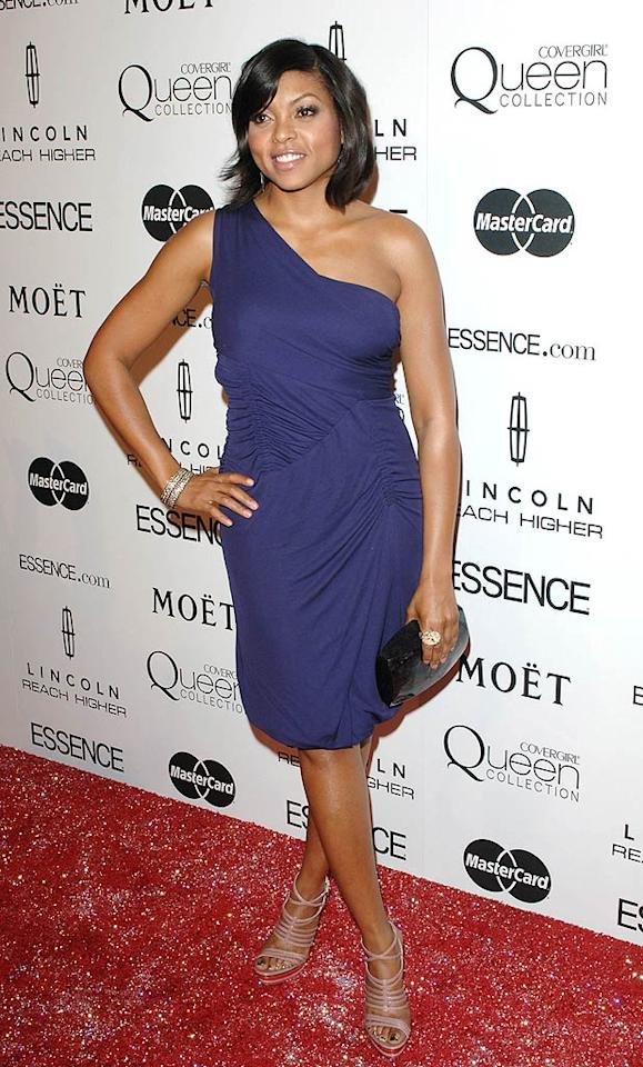 "Taraji P. Henson -- a 2009 Best Supporting Actress Oscar nominee for her performance in ""The Curious Case of Benjamin Button"" -- also attended the afternoon soiree, which celebrated black women in entertainment. Craig Barritt/<a href=""http://www.wireimage.com"" target=""new"">WireImage.com</a> - March 4, 2010"