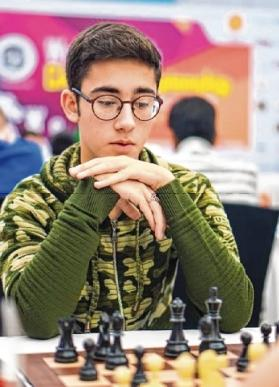 World Youth Chess Championship: Iran's Aryan Gholami takes charge
