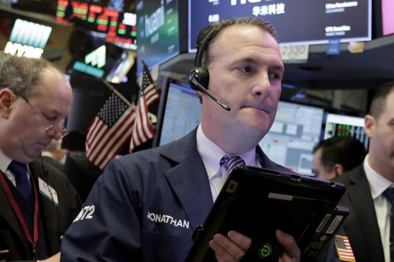 A look at stock market indexes closing prices over 5 days