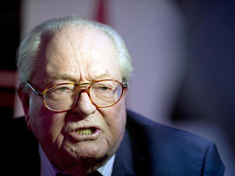 Jean Marie Le Pen founded the Front National party in 1972: AFP/Getty