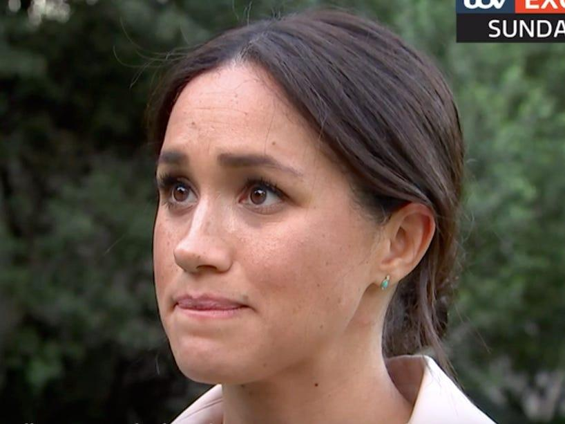 Meghan gave a candid interview to ITV as the year wound down. Photo: ITV
