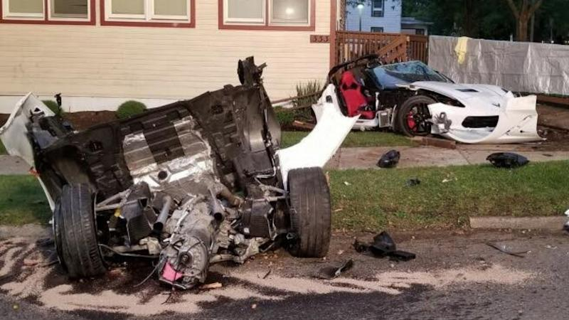 Chinese exchange student dies in high-impact US car crash that split vehicle in two