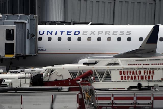 United Express crew put out plane fire mid-air