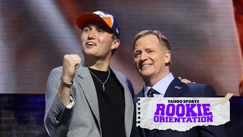 Matt Harmon investigates Drew Lock's strengths, weaknesses and draft-night fall on the latest Rookie Orientation. (Photo by Michael Wade/Icon Sportswire via Getty Images)
