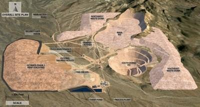 Castle Mountain Overall Site Plan (CNW Group/Equinox Gold Corp.)