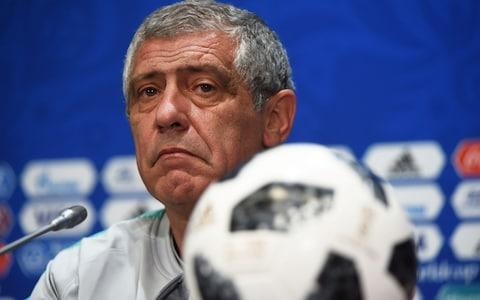 "With an elbow on the desk and one hand propping up his chin, the Portugal manager Fernando Santos takes question after question about Cristiano Ronaldo with the resignation of a pub landlord waiting for the last boisterous clientele to drink up and clear off. Why, he must wonder, does no one ever ask how he masterminded a European championship-winning team built from one single superstar and 10 others you might struggle to name. Twenty minutes in at the Luzhniki Stadium on Tuesday evening, ahead of Portugal's second group game against Morocco, Santos was asked whether Ronaldo could break the 1958 record of 13 goals at a single tournament by Just Fontaine, the Morocco-born France international. The Portugal coach had run out of politeness. ""Maybe. I don't know. This is a World Cup, and these are all national teams. The important thing is to respect Morocco and all our opponents,"" he said. The issue for those who would like a break from Ronaldo, even a 63-year-old coach whose team won a Euro 2016 final against France in Paris without their No 7 for 85 of the 120 minutes, is that the relentless CR7 is already leading the big names at Russia 2018. Lionel Messi? Missed a penalty. Neymar? Limping after a 1-1 draw with Switzerland. Eden Hazard? Failed to fill his boots against Panama. Thomas Muller? Anonymous against Mexico. Fontaine? Now 84 and unlikely to add to his international tally. Over the years, the cult of Ronaldo, the obsessive hunting of the Ballon D'Or, the dizzying number of goals, the unashamedly distraught reaction to not being passed the ball at every occasion, the constant shooting – has also become an unending conflict. Fernando Santos faced plenty of questions about you know who Credit: afp Every goal and its accompanying celebration now has to be a point proven against someone or something, whether those targets are interpreted as commercials featuring Messi and farmyard animals, or veiled messages to the Spanish tax authorities. When Patrice Evra tells the story of being invited to lunch at Ronaldo's home during their time at Manchester United and being served a joyless plate of plain chicken and salad before his host insisted on a game of two-touch football, that too feeds into the legend of the perfectionist. The man who would forego a little sauce to bestride the football world and all its rewards, including lucrative endorsements with Egyptian steel companies and that Japanese invention that helps you develop a six-pack. The argument can get a little wearying at times, as if to concede any weakness or self-doubt would be to admit to a defeat in itself. You have to wonder how he will cope with the decline, whenever it does come – by current standards some time around his mid-forties. When Ronaldo came into the press room at the Fisht Stadium in Sochi last week, notably content and at peace after that dramatic hat-trick against Spain, it did occur whether this tournament might indeed be the peak in a colossal career of achievement. Zinedine Zidane turned 34 during the 2006 World Cup finals, when he was still arguably the tournament's best player, and Ronaldo does not reach 34 until next February. Zinedine Zidane was 34 at the 2006 World Cup Credit: Getty images His performance against Spain was the textbook late-era Ronaldo, picking out the moments he could prevail and the individuals in the Spain team whose vulnerabilities he could exploit. He won the penalty from Nacho, a team-mate at Real Madrid he will know well and a downgrade on the first-choice right back Dani Carvajal. He may well have spotted something in David de Gea that tempted him into the shot for the second that the goalkeeper let in – not that it takes much for Ronaldo to shoot. It was Ronaldo who won the foul for the free-kick from which he struck a glorious third. An equally remarkable testament to all those years of dedication to plain chicken was one first-half sprint again from Portugal's area to Spain's to support a counter-attack. Fifa clocked his top speed at 33.98 km/h, and the footage of him rocketing past younger team-mates will resonate most among the World Cup's competing players, who will have noted that example of his physicality. World Cup whatsapp promo It contributes to the general sense of awe around him from most of his peers, the glances his way in the tunnel, the surreptitious shirt exchange requests – all of which play into the influence he has on the game and the tournament. Santos did drop into the conversation that it was he who first decided that Ronaldo might be best moved back into a central position in his thirties, rather than anyone at Real Madrid. The Portugal manager concluded with some more praise for his captain and then the observation: ""I have never seen one player win a game on his own."" Which strictly speaking is true, but then teams without players like Ronaldo also tend not to win tournaments. A World Cup winners' medal would leave Ronaldo no heights left to scale and even with Portugal as the current European champions it feels improbable. Yet against Spain there was the unmistakable aura about him. The moments aside from his goals when he did that thing he often does when the action goes stagnant, dropping deep to take a few touches on the ball, just to remind his opponents who he is and what he is capable of doing. It is some power he wields, and more goals against Morocco today will only amplify it. WorldCup - newsletter promo - end of article"