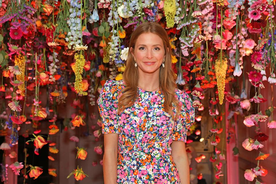 Millie Mackintosh has been praised for opening up about her breastfeeding journey, pictured April 2019. (Getty Images)