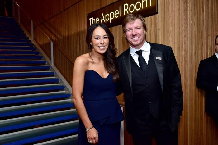 Joanna Gaines and Chip Gaines attend the Time 100 Gala in 2019