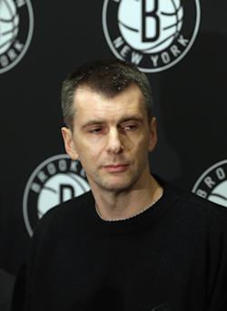 Mikhail Prokhorov is searching for a new GM and a new coach. (Getty Images)