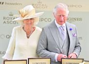 <p>Camilla, Duchess of Cornwall and Prince Charles attend Royal Ascot on June 16, 2021.</p>