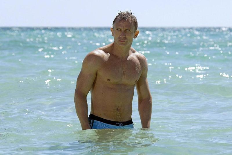 The name's Bond: Daniel Craig as the 007 agent