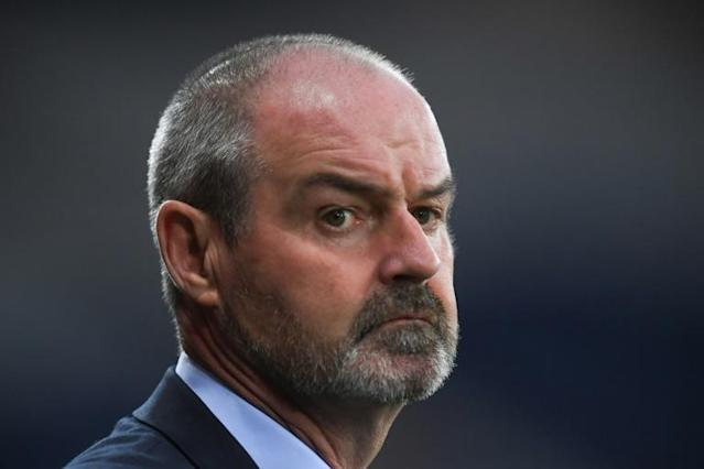 Scotland manager Steve Clarke has accepted a 10 percent pay cut (AFP Photo/ANDY BUCHANAN)