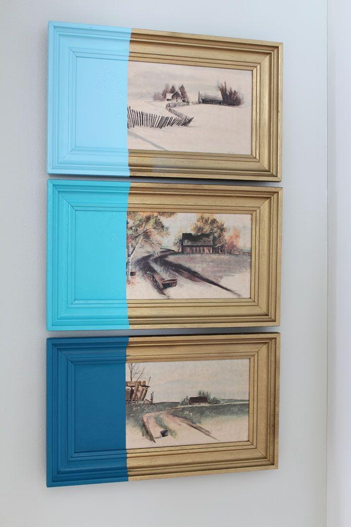 "<p>We all have them—those vintage paintings gathering dust in our basements that haven't seen the light of day in years. Whether they've been passed down in your family or you changed your mind about them after buying them at a flea market, you can give them a modern look by dipping them in paint.</p><p><strong>Get the tutorial at <a href=""http://simplestylings.com/paint-dipped-artwork/"" rel=""nofollow noopener"" target=""_blank"" data-ylk=""slk:Simple Stylings"" class=""link rapid-noclick-resp"">Simple Stylings</a>.</strong></p><p><a class=""link rapid-noclick-resp"" href=""https://www.amazon.com/ScotchBlue-2090-48A-CP-Painters-Polypropylene-Backing/dp/B000A3DQGW/?tag=syn-yahoo-20&ascsubtag=%5Bartid%7C10050.g.31153820%5Bsrc%7Cyahoo-us"" rel=""nofollow noopener"" target=""_blank"" data-ylk=""slk:SHOP PAINTER'S TAPE"">SHOP PAINTER'S TAPE</a></p>"