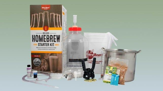 Best gifts for dads: MoreBeer Home Brewing Kit