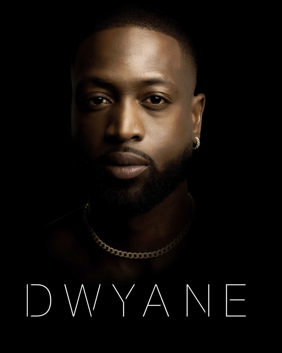 """This cover image released by William Morrow shows """"Dwyane,"""" a memoir by Dwyane Wade. The book will be released on Nov. 16. (William Morrow via AP)"""