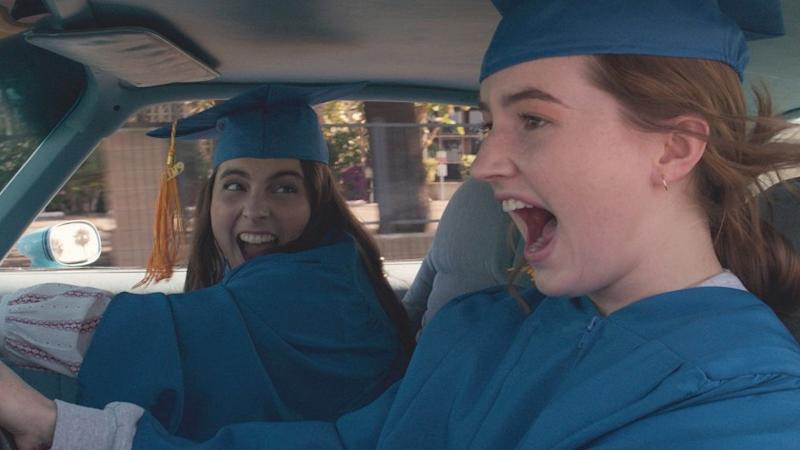 Beanie Feldstein stars as Molly and Kaitlyn Dever as Amy in Olivia Wilde?s directorial debut, BOOKSMART, an Annapurna Pictures release. Credit: Courtesy of Annapurna Pictures