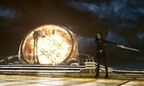 <p>Gamora and her sword are all business. (Photo: Marvel) </p>