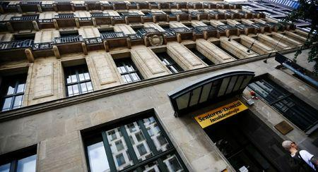 The former Hotel Baltic, now a senior citizen home and soon office space is pictured in Berlin, Germany, June 18, 2018. Picture taken June 18, 2018. REUTERS/Hannibal Hanschke