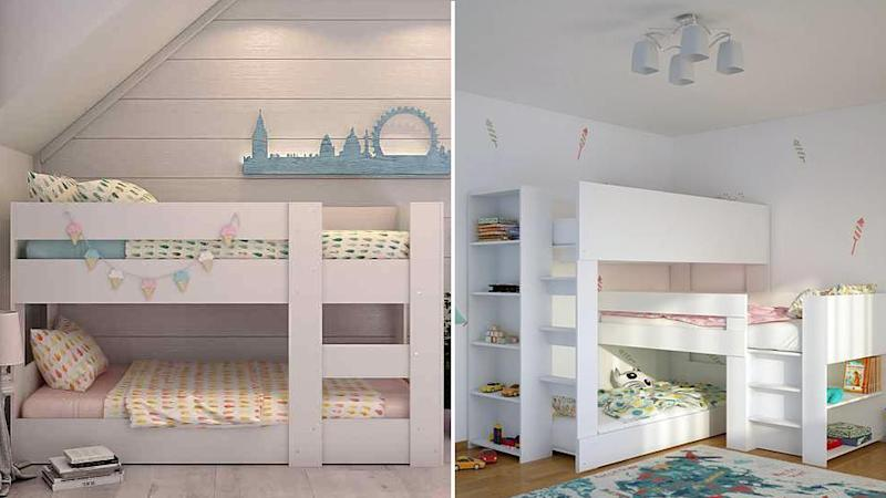 Seven bunk beds by Fitting Furniture have been recalled over fears they may collapse.