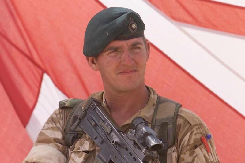Freed: former Royal Marine Sergeant Alexander Blackman: PA