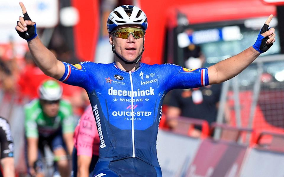 Fabio Jakobsen - all the latest news and results from the 2021 Vuelta a España - GETTY IMAGES