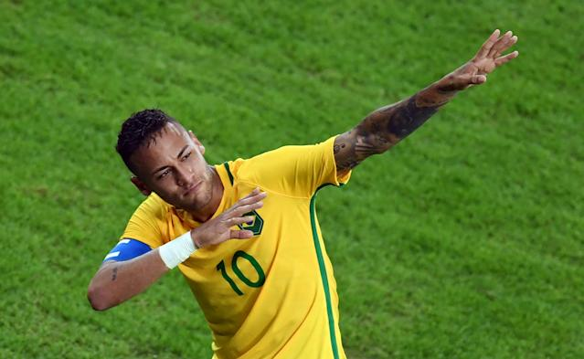 Neymar's recovery from injury is a slight concern for Brazil, but not to the degree it would have been two or four years ago. (Getty)