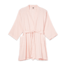 <p><span>The Everyday Linen Robe in Rosewater</span> ($88) </p>