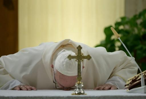 The pope has repeatedly called on priests to spend more time visiting the sick