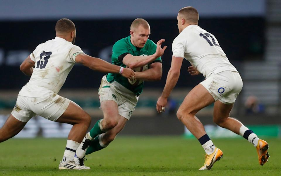 Keith Earls was one of the brighter players for Ireland - ACTION IMAGES